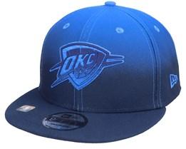 Oklahoma City Thunder 9FIFTY NBA20 Back Half Navy/Blue Snapback - New Era