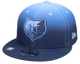 Memphis Grizzlies 9FIFTY NBA20 Back Half Navy/Blue Snapback - New Era