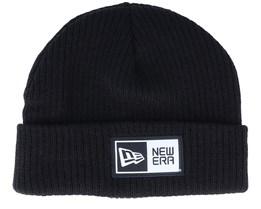 Hatstore Exclusive x Short Knit Thin Ne Black Cuff - New Era