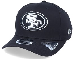 Hatstore Exclusive x San Francisco 49ers Essential 9Fifty Stretch Black Adjustable - New Era