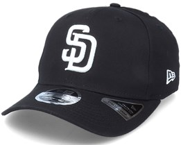 Hatstore Exclusive x San Diego Padres Essential 9Fifty Stretch Black Adjustable - New Era