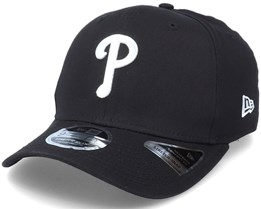 Hatstore Exclusive x Philadelphia Phillies Essential 9Fifty Stretch Black Adjustable - New Era