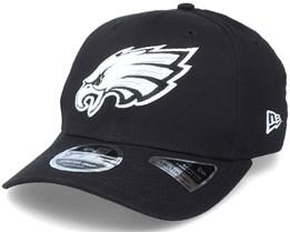 Hatstore Exclusive x Philadelphia Eagles Essential 9Fifty Stretch Black Adjustable - New Era