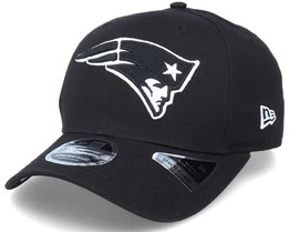 Hatstore Exclusive x New England Patriots Essential 9Fifty Stretch Ne Black Adjustable - New Era