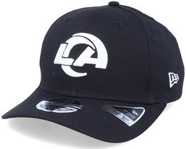 Hatstore Exclusive x Los Angeles Chargers Essential 9Fifty Stretch Black Adjustable - New Era
