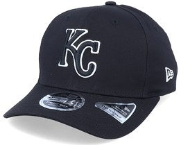 Hatstore Exclusive x Kansas City Royals Essential 9Fifty Stretch Black Adjustable - New Era