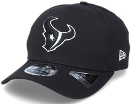 Hatstore Exclusive x Houston Texans Essential 9Fifty Stretch Black Adjustable - New Era