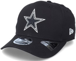 Hatstore Exclusive x Dallas Cowboys Essential 9Fifty Stretch Black Adjustable - New Era