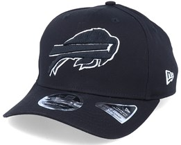 Hatstore Exclusive x Buffalo Bills Essential 9Fifty Stretch Black Adjustable - New Era