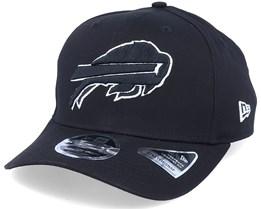 Hatstore Exclusive x Buffalo Bills Essential 9Fifty Stretch Black Adjustable - New Era