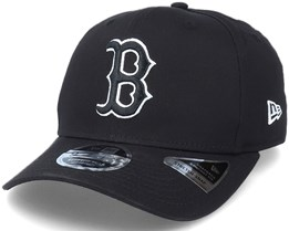 Hatstore Exclusive x Boston Red Sox Essential 9Fifty Stretch Black Adjustable - New Era