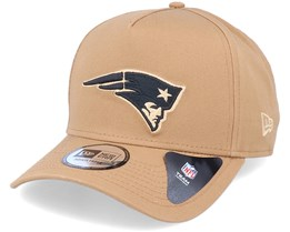 Hatstore Exclusive x New England Patriots Essential 9Forty A-Frame Caramel Adjustable - New Era