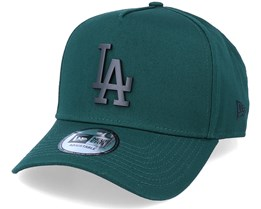 Hatstore Exclusive x Los Angeles Dodgers Essential 9Forty A-frame Dark Green Adjustable - New Era