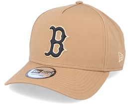 Hatstore Exclusive x Boston Red Sox Essential 9Forty A-Frame Caramel Adjustable - New Era