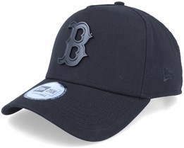 Hatstore Exclusive x Boston Red Sox Essential 9Forty A-frame Black Adjustable - New Era
