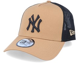 Hatstore Exclusive x New York Yankees Caramel A-Frame Trucker - New Era