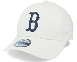 Kids Boston Red Sox Y League Essential 9Forty Stone/Navy Adjustable - New Era
