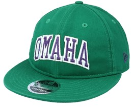 Omaha Team Heritage 9fifty Green Strapback - New Era