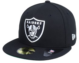 Oakland Raiders Retro Sports 59Fifty OTC Black Fitted - New Era