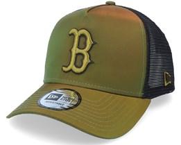 Boston Red Sox Hypertone Green/Black Trucker - New Era