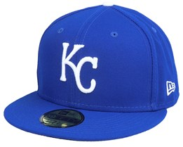 Kansas City Royals Authentic On-Field 59Fifty Blue Fitted - New Era