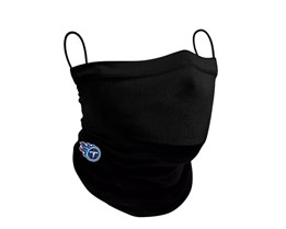 Tennessee Titans 1-Pack Black Neck Gaiter - New Era