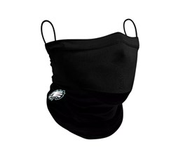 Philadelphia Eagles 1-Pack Black Neck Gaiter - New Era