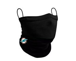 Miami Dolphins 1-Pack Black Neck Gaiter - New Era