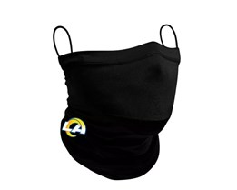 Los Angeles Rams 1-Pack Black Neck Gaiter - New Era