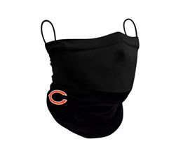 Chicago Bears 1-Pack Black Neck Gaiter - New Era