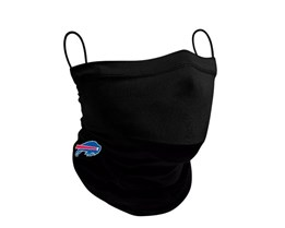Buffalo Bills 1-Pack Black Neck Gaiter - New Era