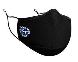 Tennessee Titans 1-Pack Black Face Mask - New Era