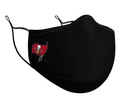 Tampa Bay Buccaneers 1-Pack Black Face Mask - New Era