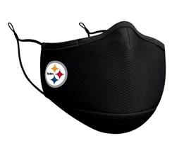 Pittsburgh Steelers 1-Pack Black Face Mask - New Era