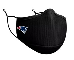 New England Patriots 1-Pack Black Face Mask - New Era