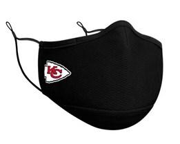 Kansas City Chiefs 1-Pack Black Face Mask - New Era