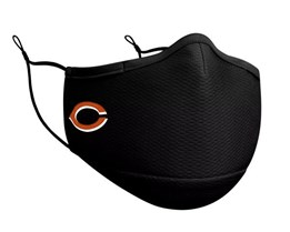 Chicago Bears 1-Pack Black Face Mask - New Era