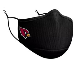 Arizona Cardinals 1-Pack Black Face Mask - New Era