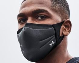 Sportsmask Black Face Mask - Under Armour