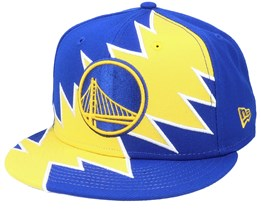 Golden State Warriors 9Fifty All-Star Game Tear Blue/Yellow Snapback - New Era