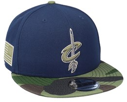 Cleveland Cavaliers 9Fifty All-Star Game Camo Navy Snapback - New Era