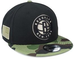 Brooklyn Nets 9Fifty All-Star Game Camo Black Snapback - New Era