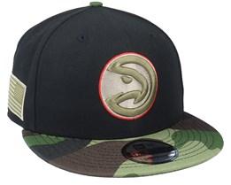 Atlanta Hawks 9Fifty All-Star Game Camo Black Snapback - New Era