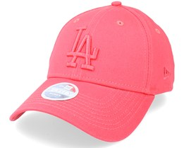 Los Angeles Dodgers Womens Tonal 9FORTY Coral/Coral Adjustable - New Era