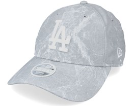 Los Angeles Dodgers Womens Marble 9FORTY Gray/White Adjustable - New Era