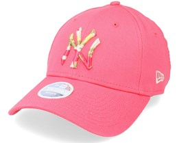 New York Yankees Womens Camo Infill 9FORTY Pink/Camo Adjustable - New Era