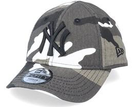Kids New York Yankees Camo Pack 9Forty Black Camo Adjustable - New Era