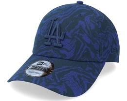 Los Angeles Dodgers Seasonal Camo 9FORTY Navy Adjustable - New Era