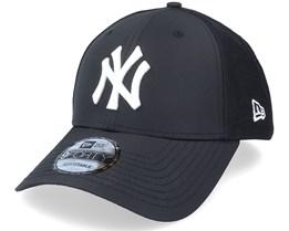 New York Yankees Mesh Underlay 9FORTY Black/Whtie Adjustable - New Era