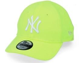 Kids New York Yankees Infant Neon Pack 9FORTY Neon Yellow/White Adjustable - New Era
